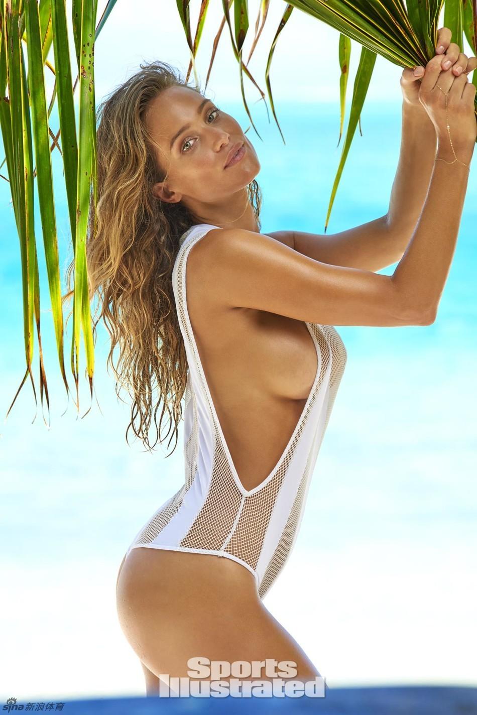 体育画报超模塔希提岛泳装写真