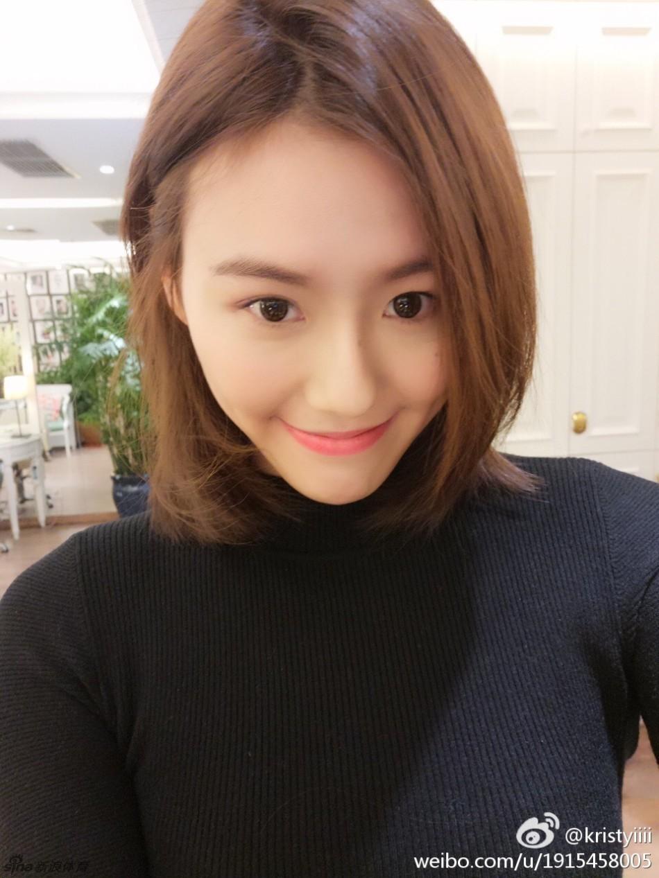 游泳队美女刘湘秀新发型_高清图集_新浪网图片
