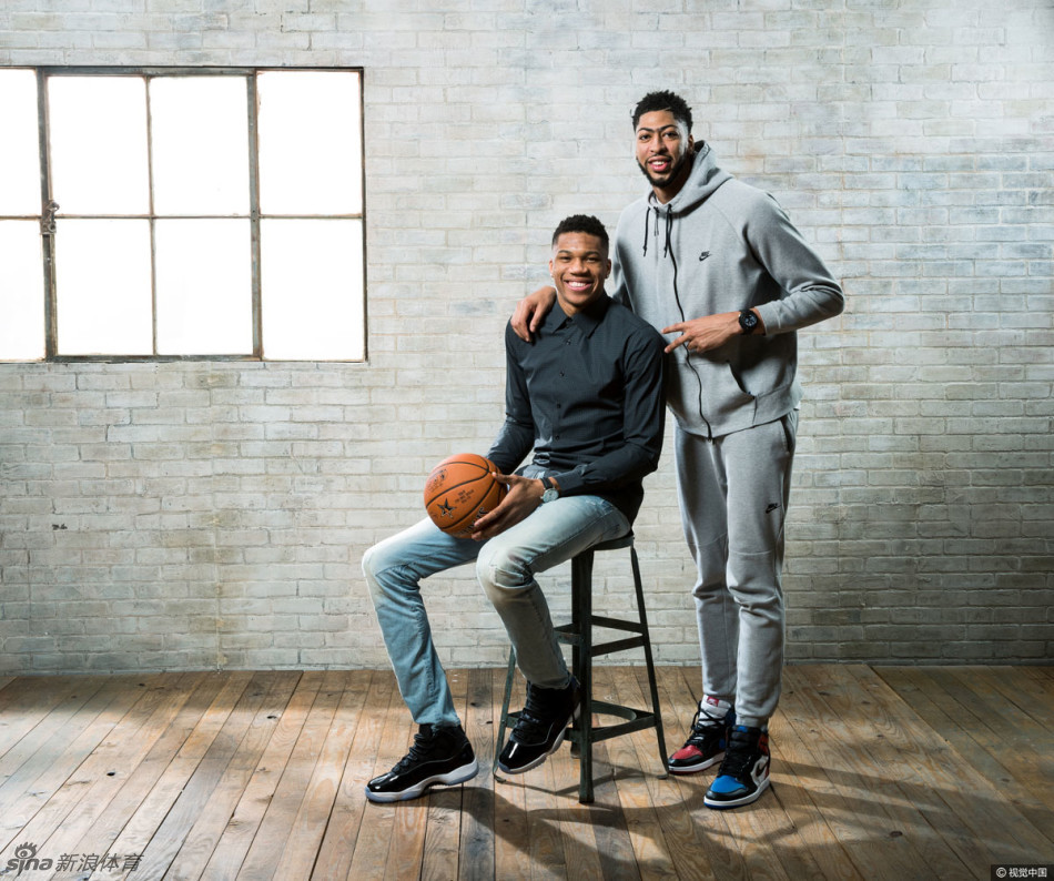 NBA全明星群星拍写真