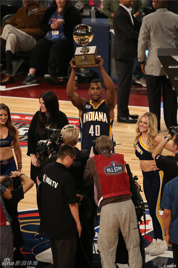 [NBA]全明星扣篮大赛罗宾逊夺冠(24张)
