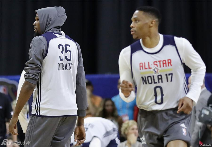 NBA全明星训练
