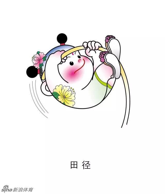 """全运会项目吉祥物""""津娃""""发布_高清图集_新浪网"""