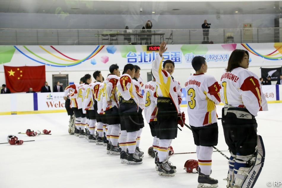 U18冰球世青赛中国提前夺冠(8张)