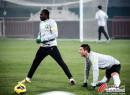北京国安训练备战足协杯