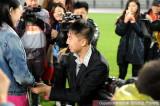 舜天队国脚任航上演现场求婚的大戏图片