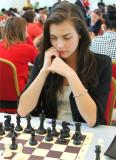 美女棋手波泰兹出战国象比赛