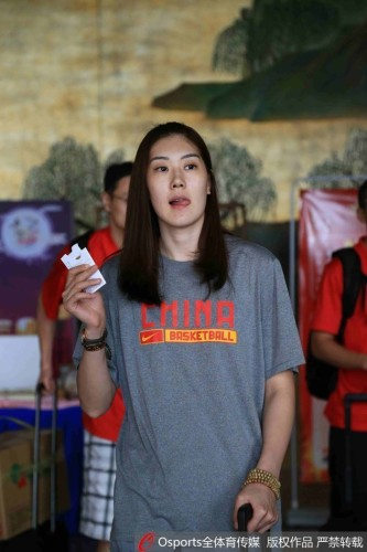 中国女篮队员孙梦然