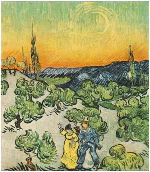 《向日葵》与《有乌鸦的麦田》等.-梵高油画集