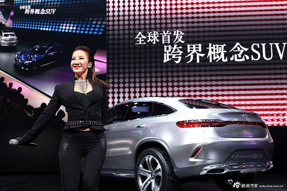 各路车型的代言明星来了被围攻不来被吐槽.2014年北京车展车子图片