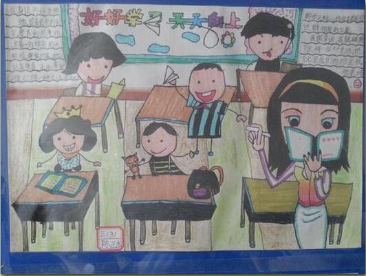 四季青小学张云老师是孩子们心目中的好妈妈.你看,三3班陈正杰图片