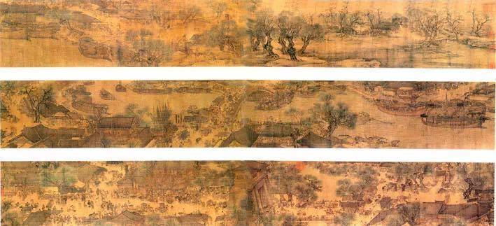 不过,出现在丽水青田县也有一张《清明上河图》,不过它可不是珍