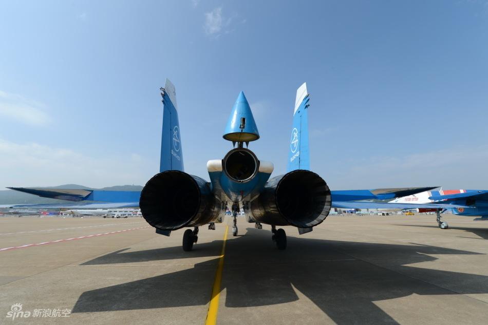 俄罗斯空军勇士飞行表演队飞抵珠海航展