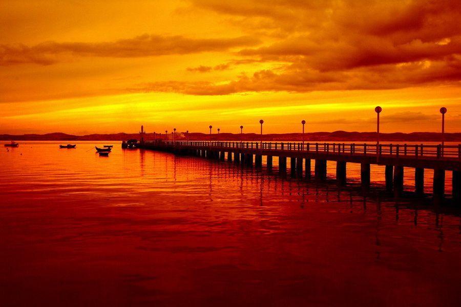 世界各地恬静美丽的黄昏美景