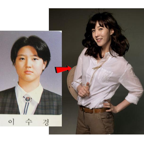 韩国女星整容减肥变身史 脱胎换骨超励志
