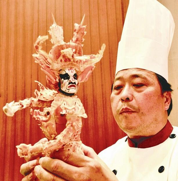 至尊神图爱虾的鱼-鄂台厨神 比武献技