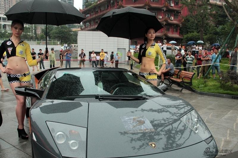 重庆CQSCC超跑俱乐部公益巡游 豪车云集超车展图片
