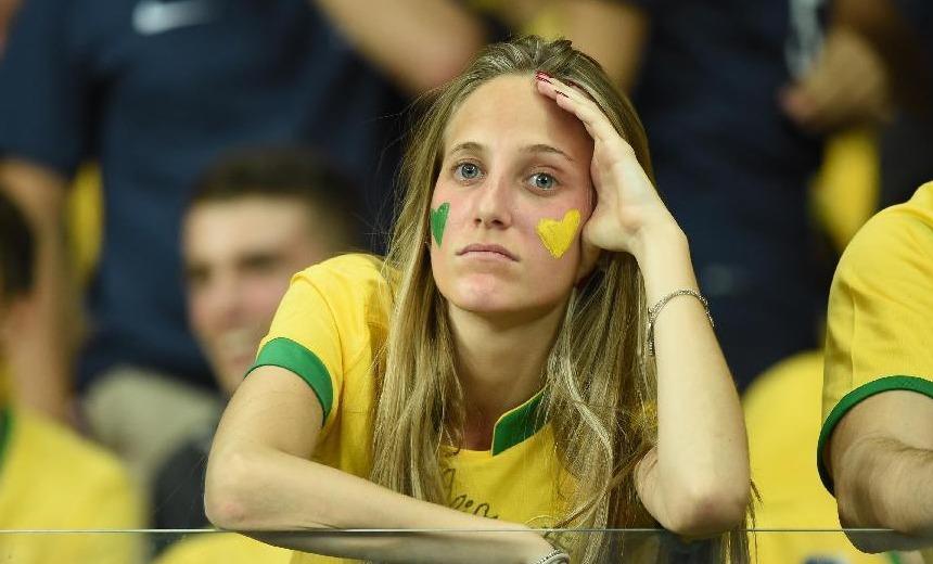 间7月9日,在巴西贝洛奥里藏特的米内罗大球场进行的2014年巴西图片