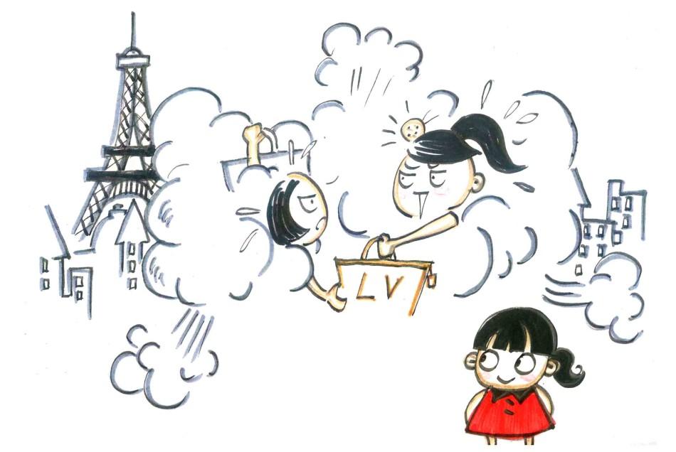 南岸文明之旅游文明,用漫画说明什么是旅游文明,什么是旅游不文明.图片