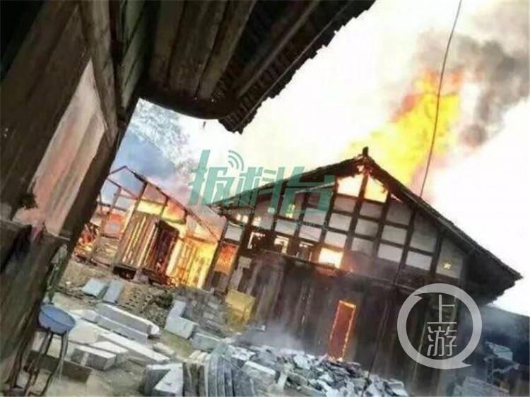 10月10日,上游新闻-重庆晨报记者从庙溪乡获悉,所幸事故并未造成人员