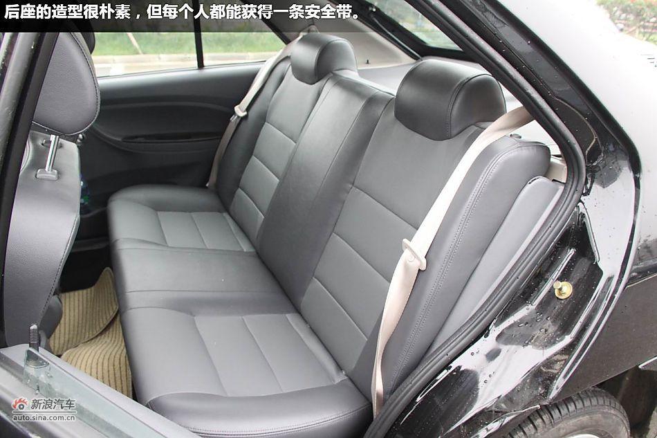 新浪汽车试驾图解奇瑞2012款旗云2高清图片