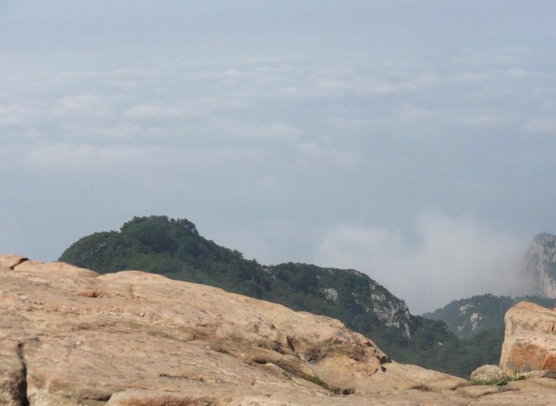 庄严巍峨的泰山