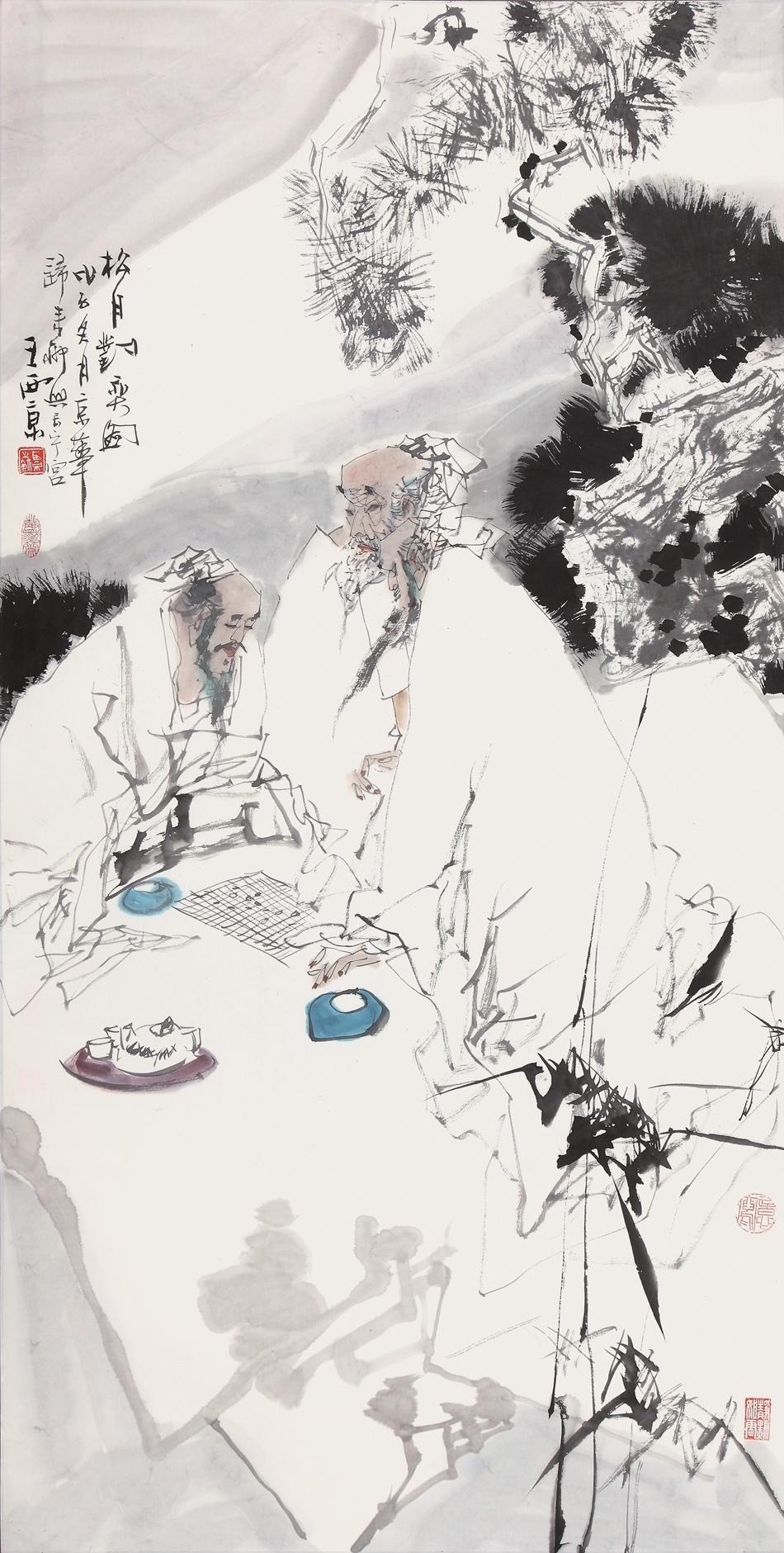 著名画家王西京画作欣赏