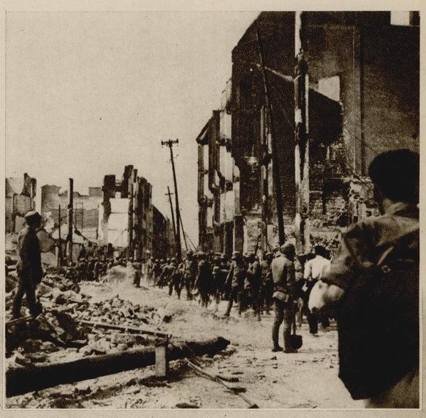 行了长期无差别轰炸.-九一八日本侵略狂轰滥炸图片