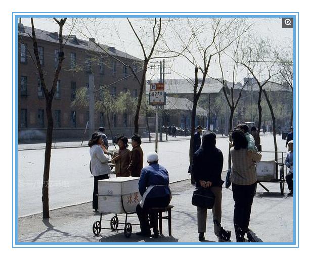 沈阳小贩夏䲹l�9i��kd_国外美女拍摄1983年的沈阳