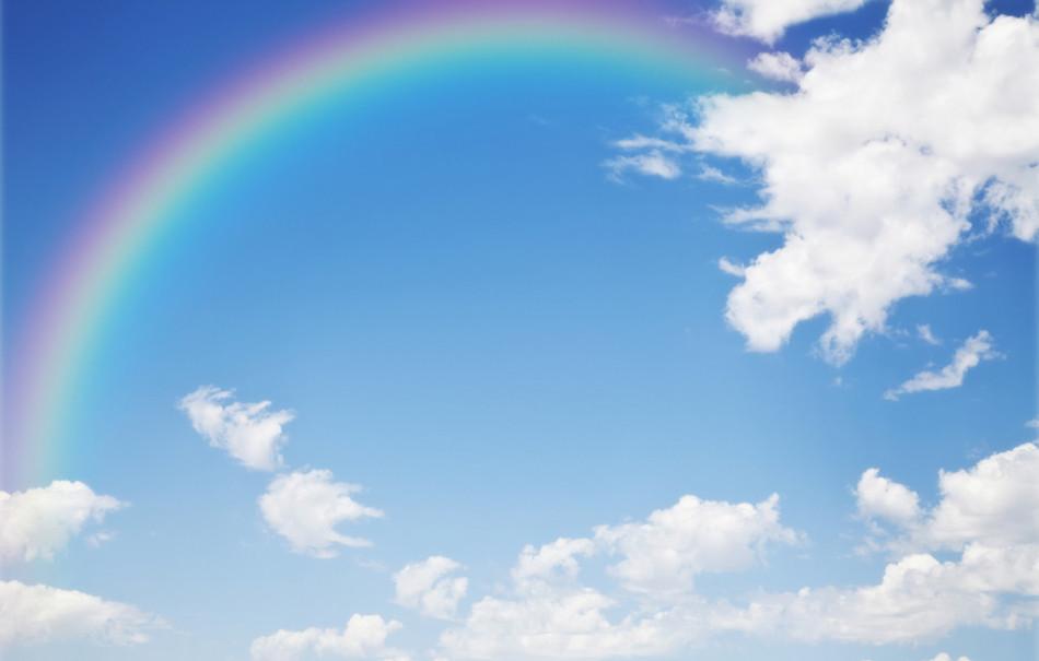 世界各地绝美彩虹图片