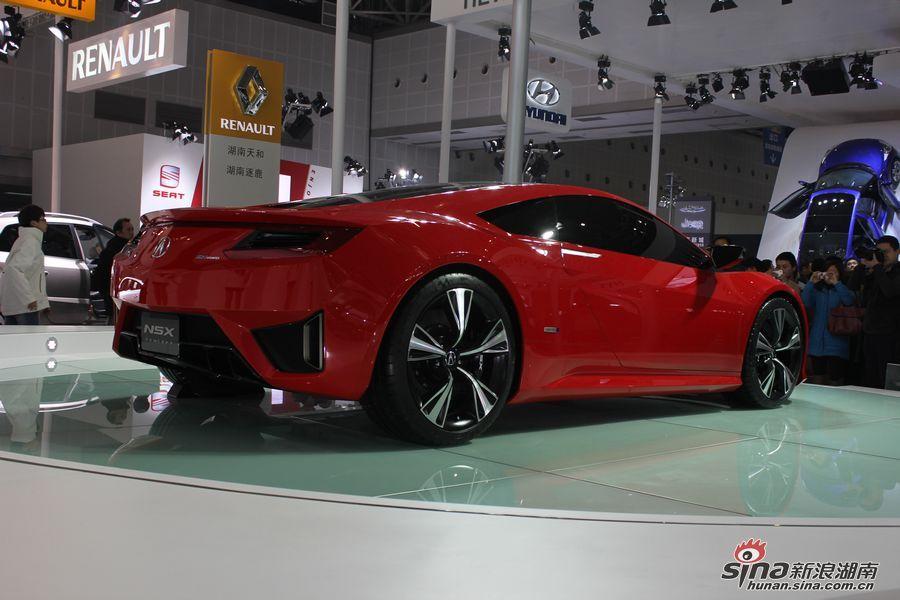 2012长沙国际车展混合动力车讴歌NSX高清图片