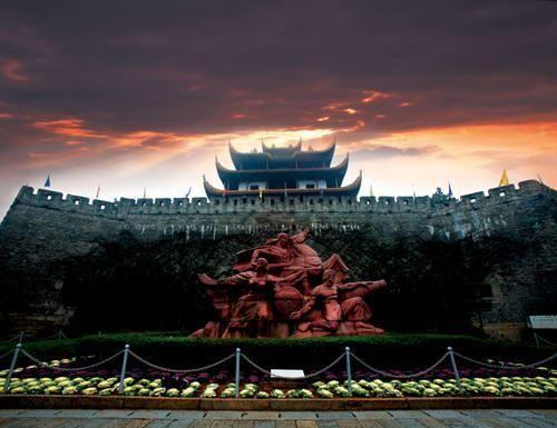 """现为""""新潇湘八景——长沙四大古迹之一"""",中国十大历史文化名图片"""