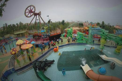 中国版迪斯尼 方特欢乐世界主题公园