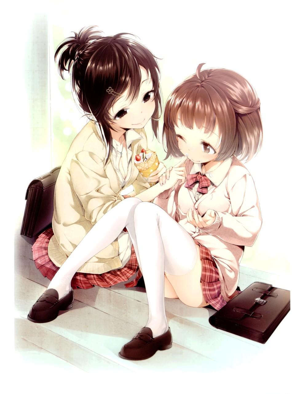 肉感萌系美少女,酥胸美腿超诱惑,知名画师Buriki原画欣赏图片