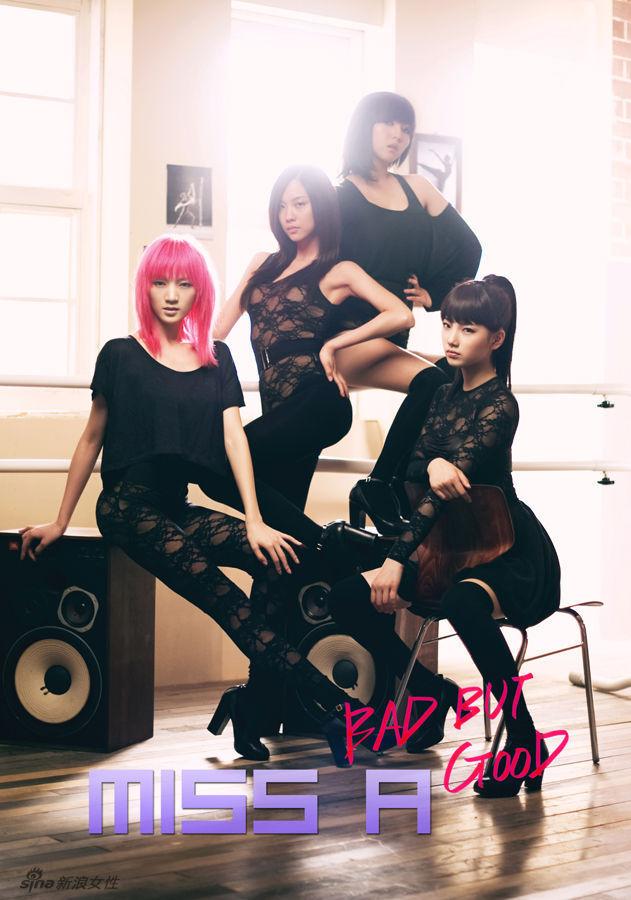 韩国美女组合miss a写真