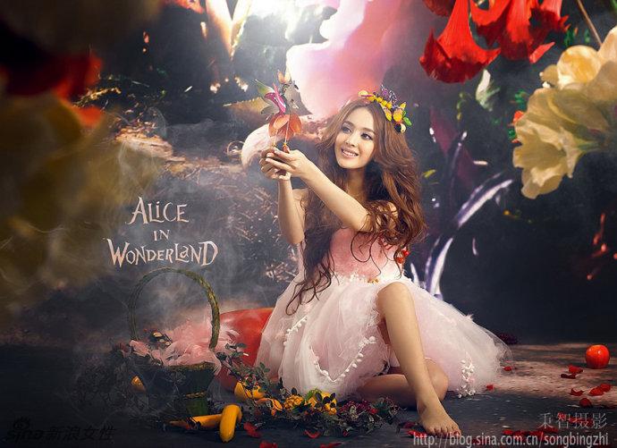 爱丽丝梦游仙境写真