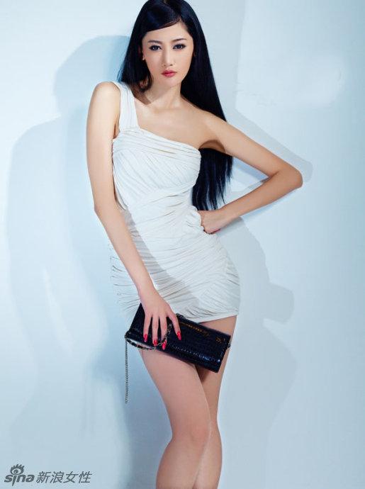 名模张馨之时尚写真