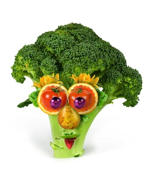 到了吗?平时的蔬菜水果也能变身有趣的造型哦!一起来试试吧!-
