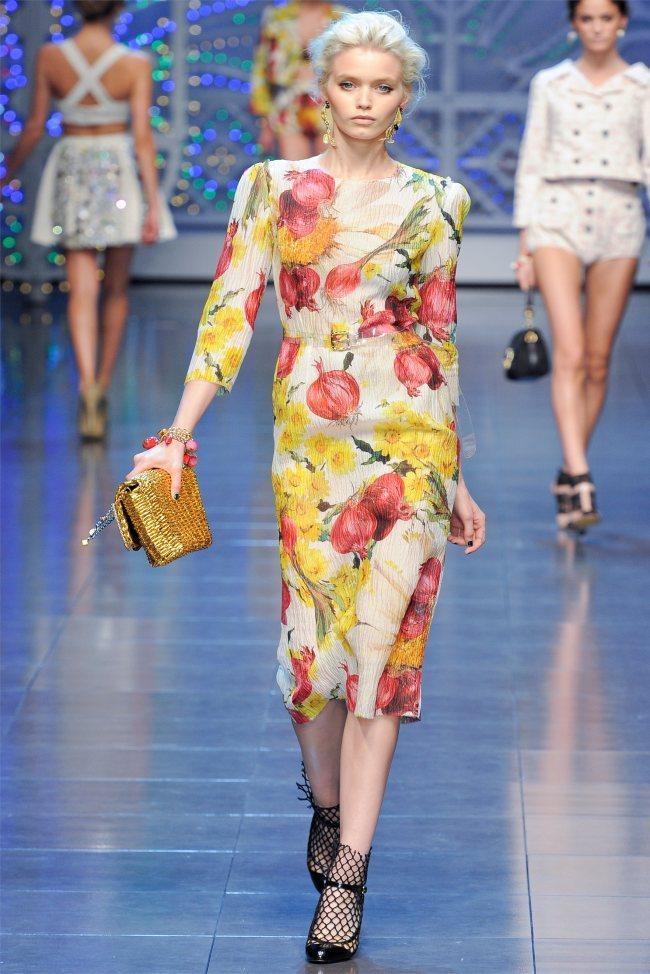 2012米兰春夏时装周 Dolce Gabbana秀场
