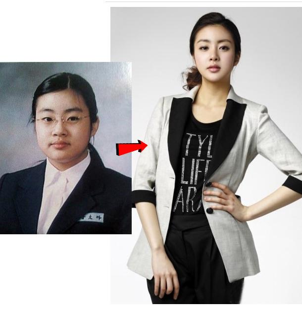 韩国女星减肥变身史 脱胎换骨超励志