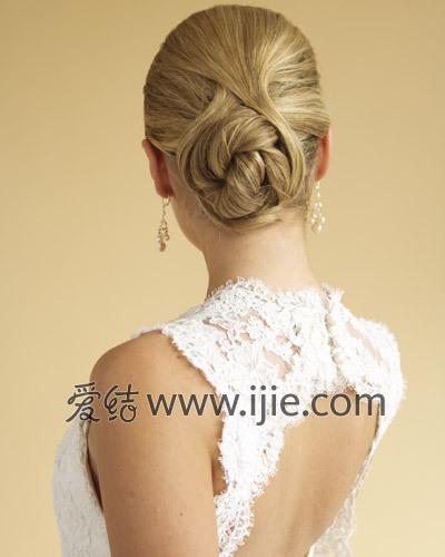 经典欧式新娘发型
