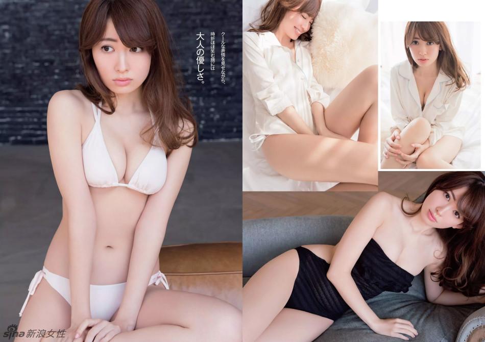 日本性感女星小嶋阳菜最新写真曝光极致诱惑