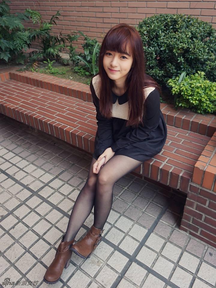 台湾最美校花走红:第一眼就有恋爱的感觉