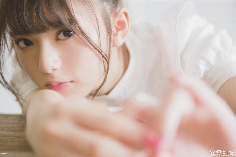 """""""被神选中的美少女""""日本偶像斋藤飞鸟空气感大片透明清纯"""