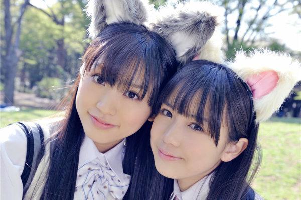 日本兽耳美少女制服大片