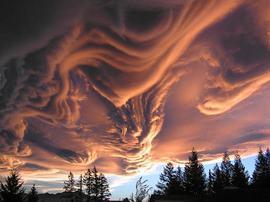 见识世界各地千奇百怪的壮观云彩