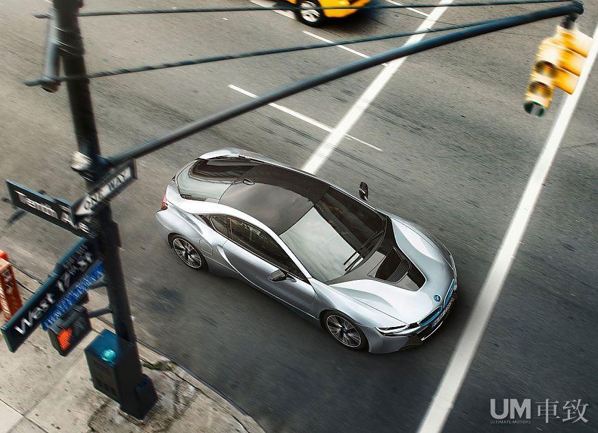 科技引领未来 新浪汽车试车图解宝马i8高清图片