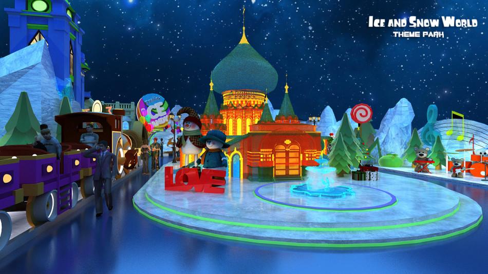 哈尔滨冰雪大世界主题乐园