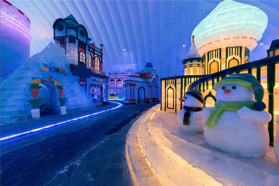 冰雪大世界室内冰雪主题乐园:印象哈尔滨图片