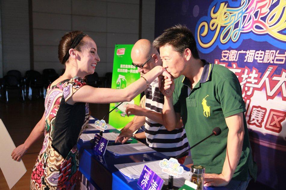 安徽广播电视台主持人大赛杭州站