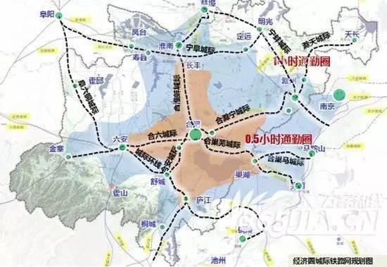 安徽多条高铁将开建 皖北地区规划织网